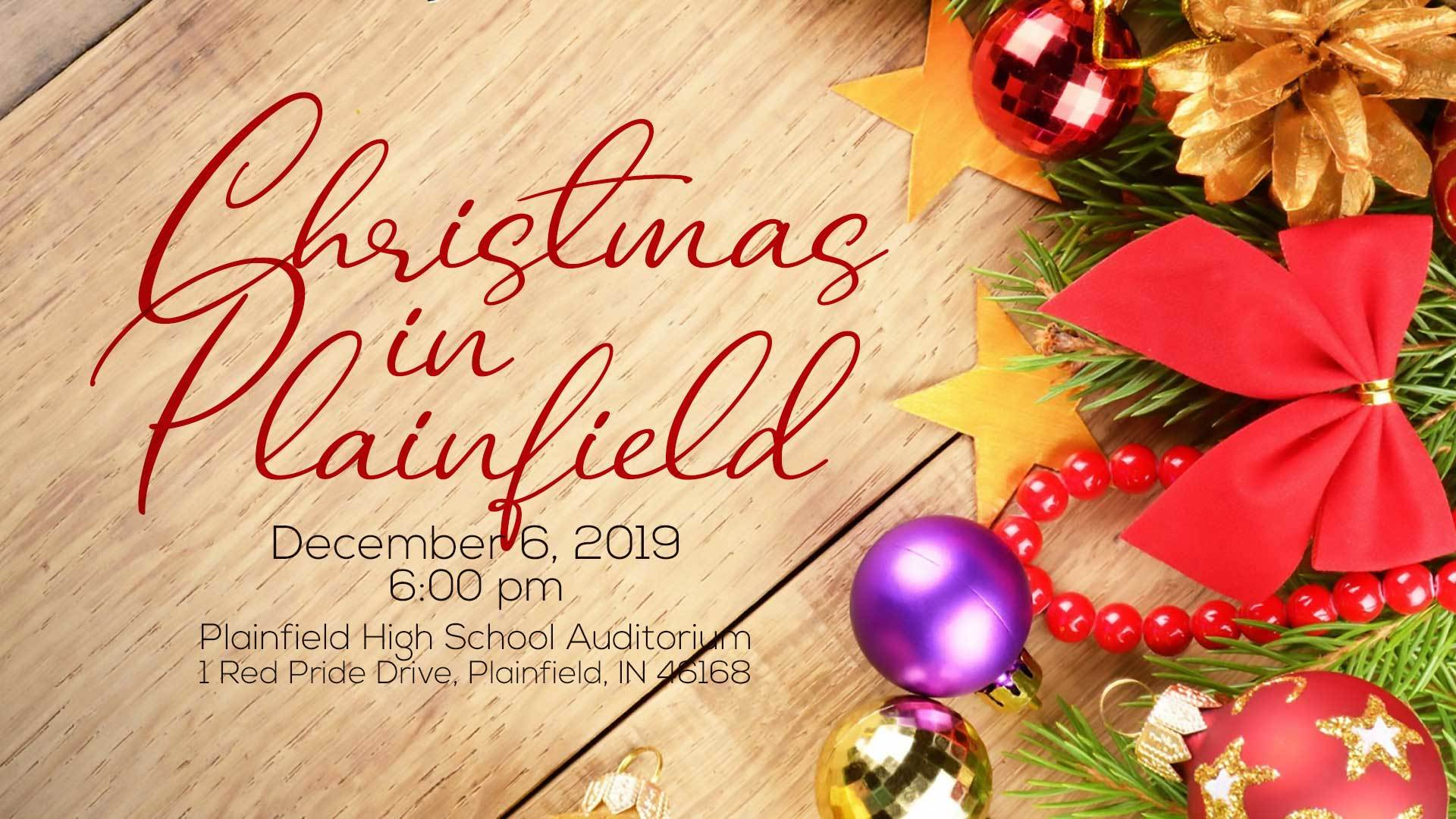 Christmas in Plainfield | Plainfield UMC - All are accepted and ...