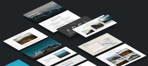 Website templates and sections.