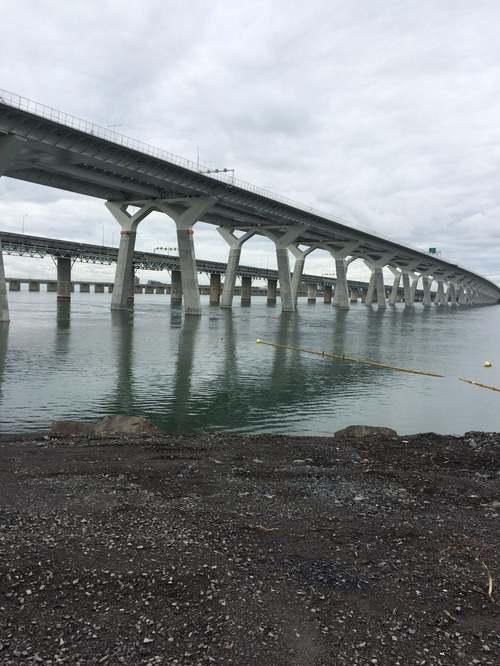 Estacade du Pont Champlain