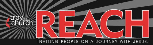 Reach Newsletter banner: Inviting people on a journey with Jesus.