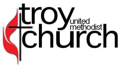 Troy United Methodist Church Logo