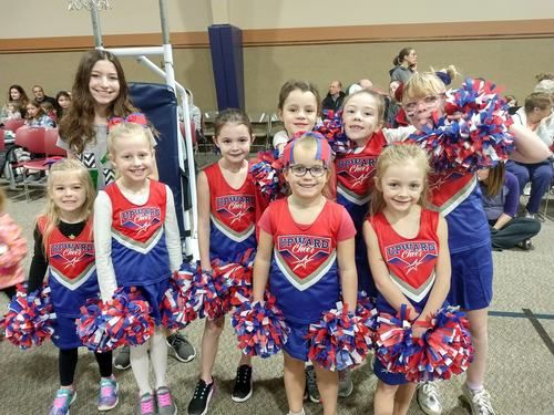 Upward Cheerleaders