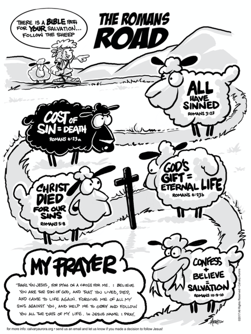 It's just a photo of Romans Road Printable with sunday school