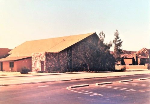 Completed Chapel at SCBC, 1981