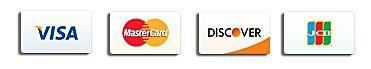 visa mastercard discover jcb credit cards