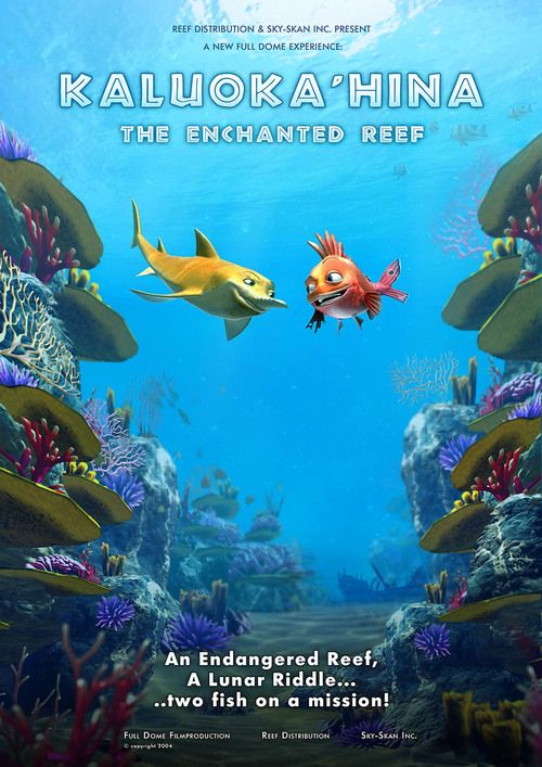 enchanted reef poster