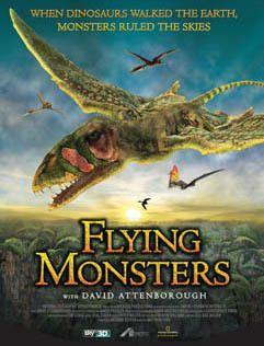 flying monsters poster
