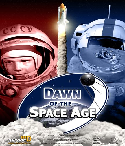dawn of space age poster