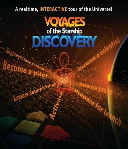 voyages of startship discovery poster