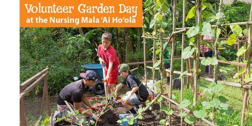 boys gardening