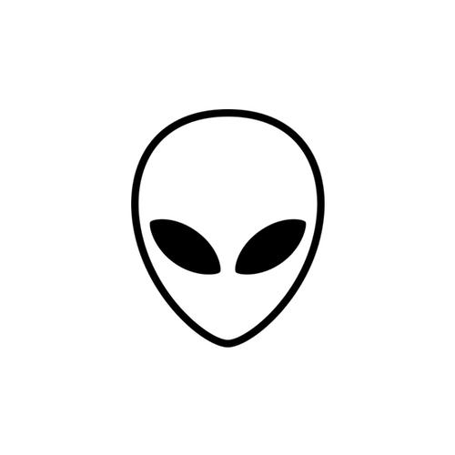 An alien head icon