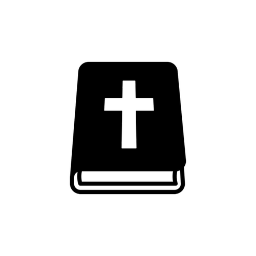 A bible icon