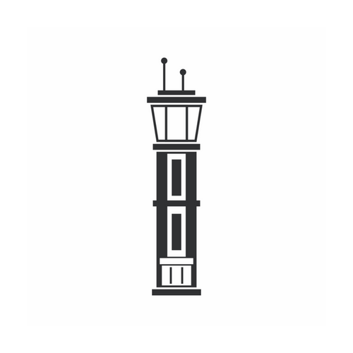 A flight tower icon