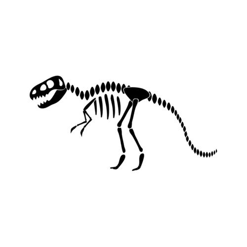 T-rex skeleton icon