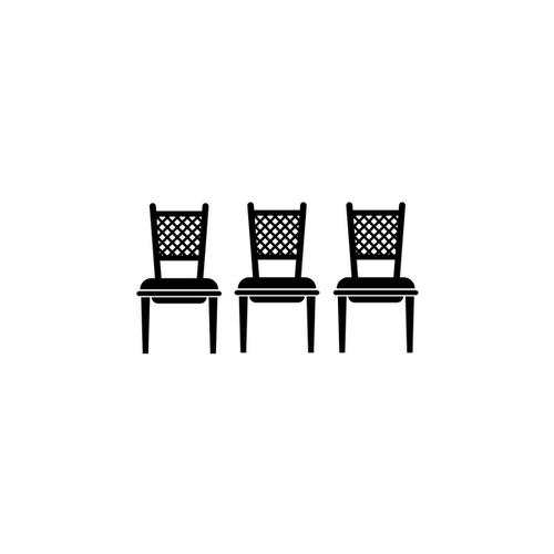 three chairs icon