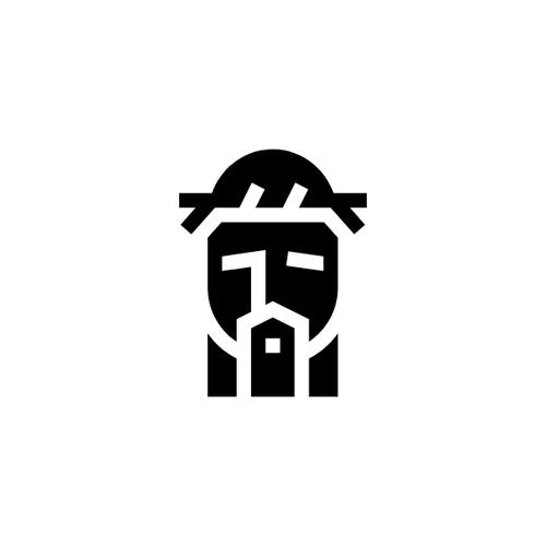 Shroud of Turin symbol