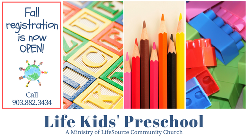 Life Kids' Preschool - Ministry of LifeSource Community Church