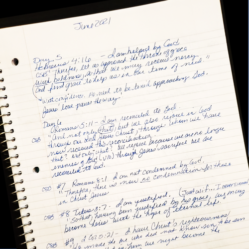 Carmens' Journal Page