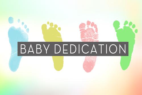 Baby Dedication 1