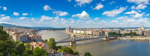 Budapest Panorama Day time