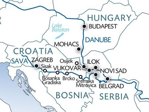 Balkan River cruise
