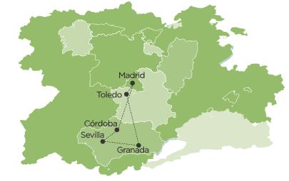 Europe Circle Tour Map