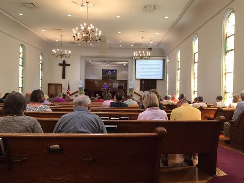 Bethany Church sanctuary