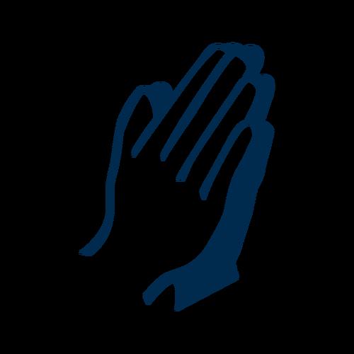 Prayer Icon.