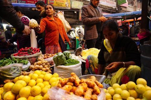 Indian FruiteAnd Vegetable Market.