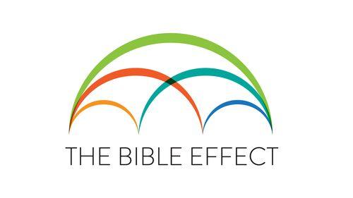 The Bible Effect Logo.
