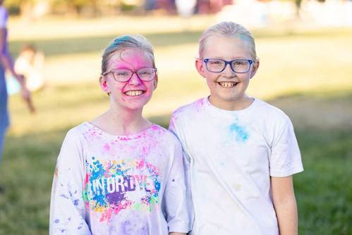 Thunder Mountain Church Student Ministry Color Wars