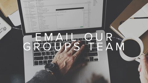 Need help? Email our groups team