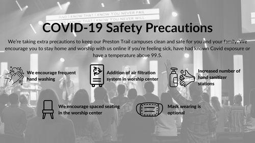 COVID-19 Safety Precautions