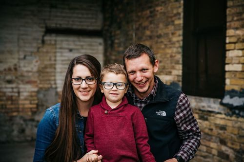 Katy McCaul and family