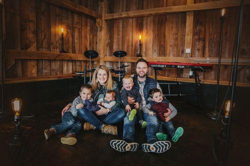Pastor Matt Seaver and family