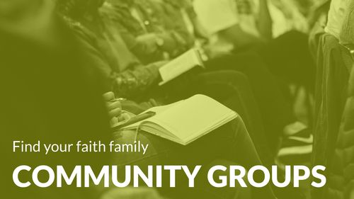 Christ Baptist Church Community Group Ministry