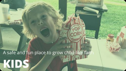 Christ Baptist Church kid's ministry is a safe ministry to grow child-like faith