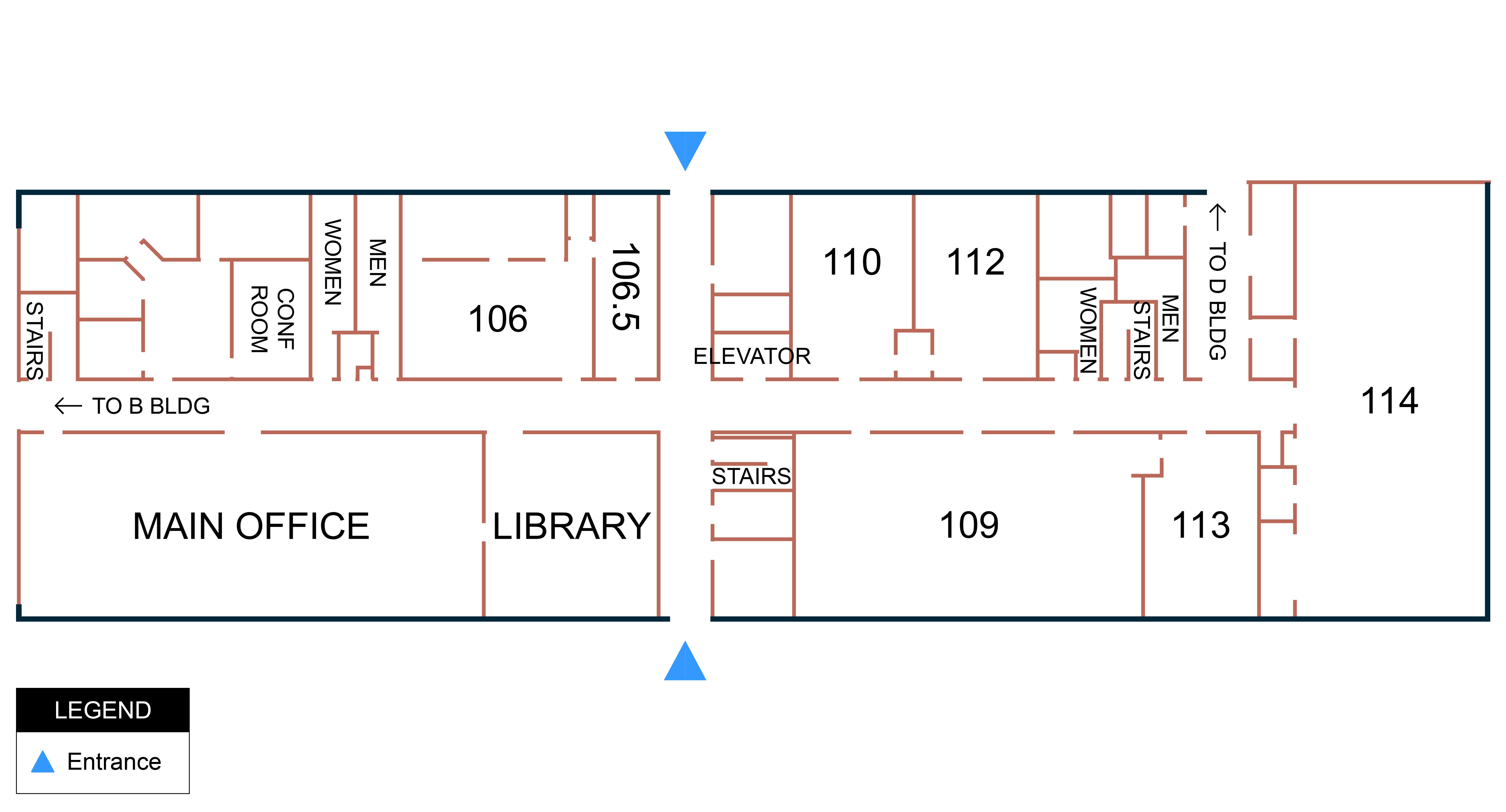 Building C - 1st Floor Map