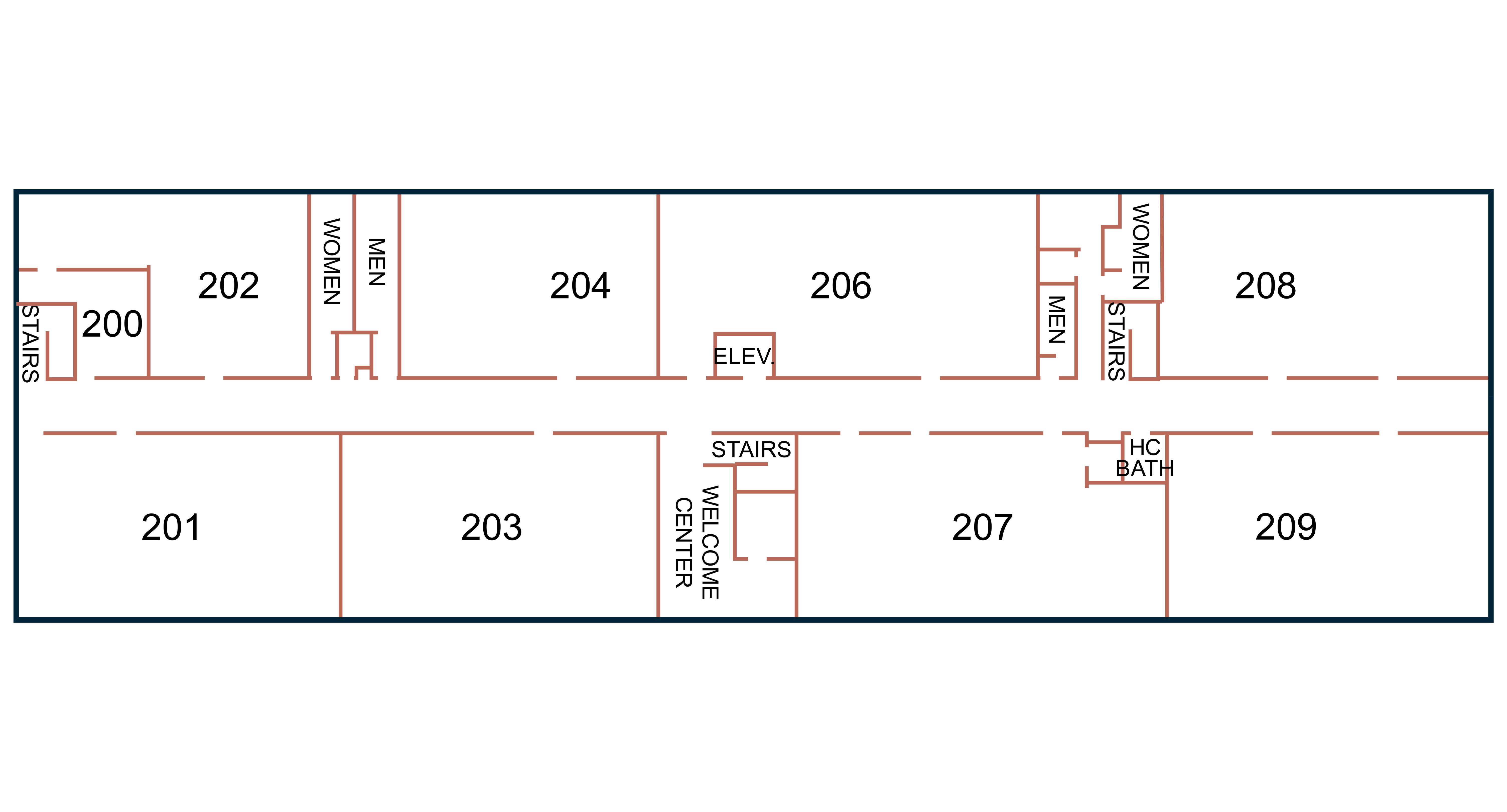 Building C - 2nd Floor Map