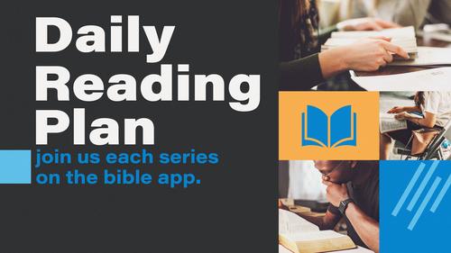 Daily Reading Plan