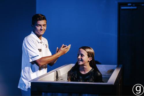 Baptism at Graystone