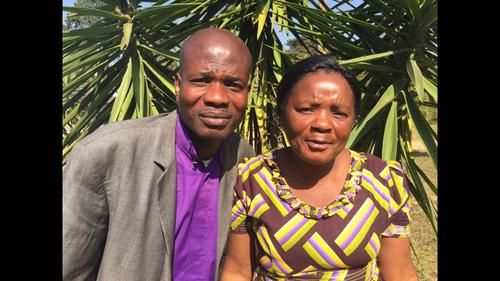DRC Pastor and wife