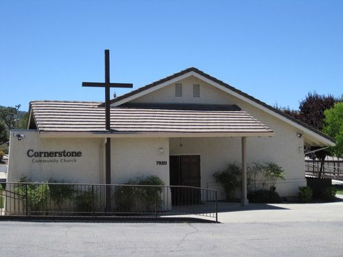 Photo of front of Cornerstone Biblical Counseling Center.