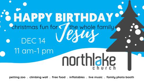 Volunteer @ Happy Birthday Jesus