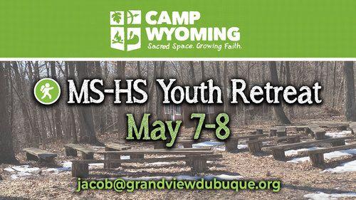 Middle School High School Youth Retreat
