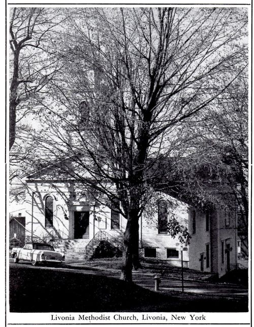 United Methodist Church, Spring St. about 1960