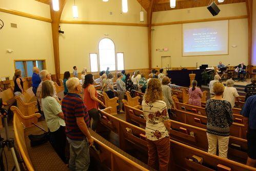 Sunday worship UMCL
