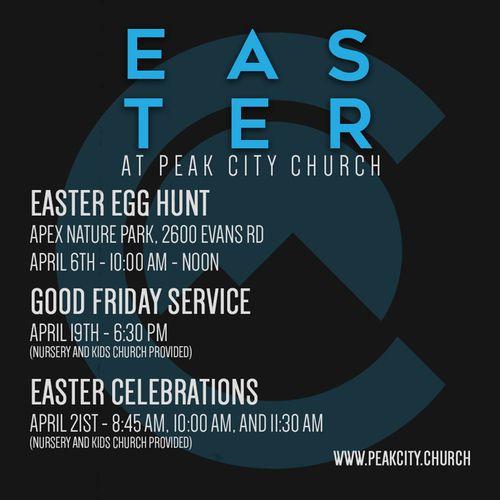 Peak City Church - Easter