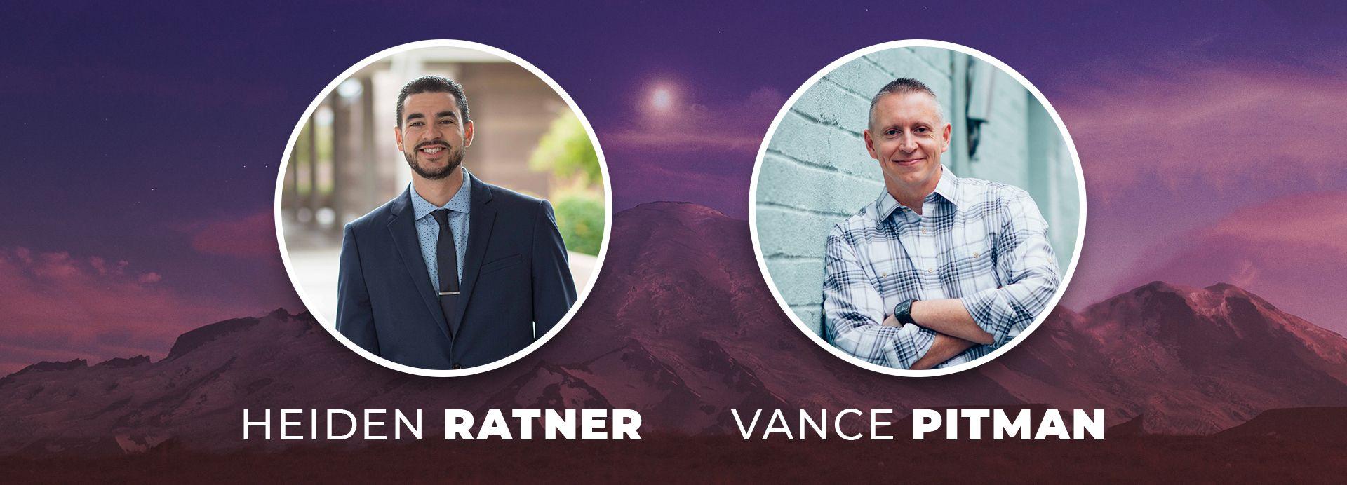 Men's Summit 2020 Speakers: Heiden Ratner, Vance Pitman