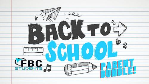 Back to School Parent Bundle